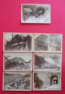1876-1880 RARE Lot De 7 Photos Cabinet Par A. Gabler Photographe à Interlaken Suisse Switzerland - Anciennes (Av. 1900)