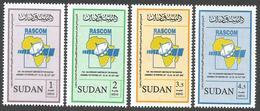 Sudan 2007 RASCOM Telecommunications - Sattelite MNH Set - Sudan (1954-...)