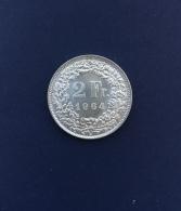 Moneta Svizzera 2 Franchi 1964/AG - Svizzera