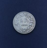 Moneta Svizzera 2 Franchi 1920/B - Suisse