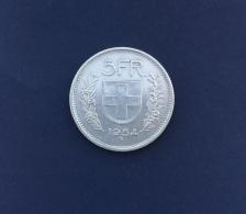 Moneta Svizzera 5 Franchi 1945/B - Svizzera