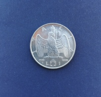 Moneta Italia 1 Lira 1939 XIII Antimagnetica - 1900-1946 : Vittorio Emanuele III & Umberto II