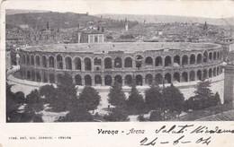 CARTOLINA - POSTCARD - VERONA - ARENA - Verona