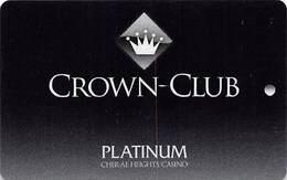 Cher-Ae Heights Casino - Trinidad, CA - BLANK Slot Card - Casino Cards
