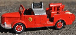 Véhicule  De Collection Pompier De Marque Solido - Pompiers
