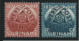 SURINAM: **, N°269 Et 270, Tb - Suriname