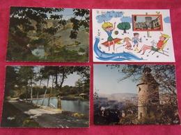 Carte Postale / Creuse /  Dépt : 23  / Lot De 4 Cartes - Unclassified