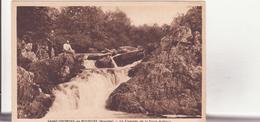 CPA -  SAINT GEORGES DE ROUELLEY (Manche) - La Cascade De La Fosse Arthour - Andere Gemeenten