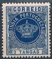 India, 1882, # 119 Dent. 13 1/2, MNG - Portuguese India