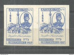 AFGHANISTAN STAMPS 1956  IMPERF PAIR MNH - Afghanistan