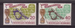 PAIRE NEUVE DE NOUVELLES-HEBRIDES - COUPE DU MONDE DE FOOTBALL EN ANGLETERRE N° Y&T 235/236 - World Cup