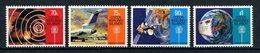 COCOS 1987 N° 163/166 ** Neufs MNH Superbes C 10,50 € Communications Avions Espace Satellites Radio Palmiers - Cocos (Keeling) Islands