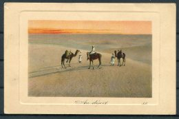 1908 Algeria Camel Postcard Alger - Coventry GB - Algeria (1924-1962)