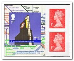 Engeland 2013, Postfris MNH, Underground - Ungebraucht
