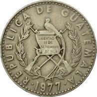 Monnaie, Guatemala, 25 Centavos, 1977, TTB, Copper-nickel, KM:278.1 - Guatemala