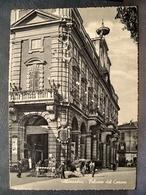 (FG.K61) ALESSANDRIA - PALAZZO DEL COMUNE Animata (comunale, Municipale, Municipio) Viaggiata 1957 - Alessandria