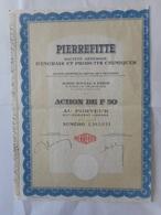 PIERREFITTE Engrais Et Produits Chimiques - Industrie