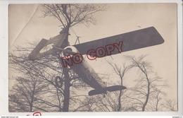 Au Plus Rapide Carte Photo Accident Avion Archive Pilote Du GAN Polytechnicien * Ecole Polytechnique Promotion 1924 - Accidents