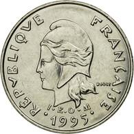 Monnaie, Nouvelle-Calédonie, 10 Francs, 1995, Paris, TTB, Nickel, KM:11 - Nouvelle-Calédonie