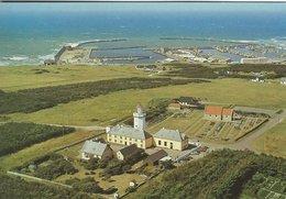 Lighthouse  -  Church.  Port  Hanstholm  Denmark    #  07719 - Lighthouses