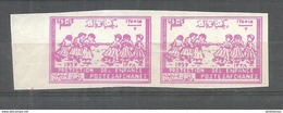 AFGHANISTAN STAMPS 1959  IMPERF PAIR MNH - Afghanistan