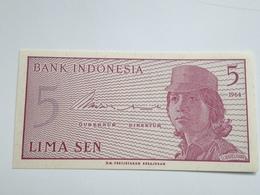 Billete Indonesia. 5 Sen. 1964. Sin Circular - Indonesia
