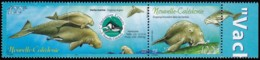 NEW CALEDONIA- Scott #922 Operation Cetacean / Mint NH Pair Stamp (bk1109) - New Caledonia