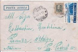 ERYTHREE - LETTRE PAR AVION POUR PADOUE PADOVA ITALIE 1937 - Erythrée