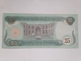 Billete Iraq. 25 Dinares. 1990. Tirada De La Guerra Del Golfo. Saddam Husein. Sin Circular - Iraq