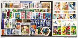 FRANCE - Année Complète 1998 - NEUF LUXE ** 80 Timbres - SUPERBE - 1990-1999