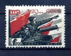 1938 URSS N.627 * - 1923-1991 URSS