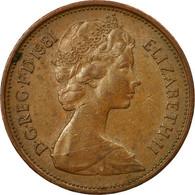 Monnaie, Grande-Bretagne, Elizabeth II, 2 New Pence, 1981, TB+, Bronze, KM:916 - 1971-… : Monnaies Décimales
