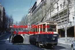 Reproduction D'une Photographie Du Tramway 1200 Ligne 68 à Marseille En 1963 - Reproductions