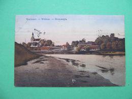 VOLMAR Valmiera 1915 General View. Russian Postcard - Lettonie
