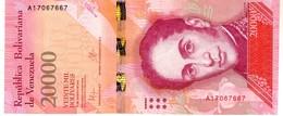 Venezuela P.99  20000 New  Bolivares 2016   A-unc - Venezuela