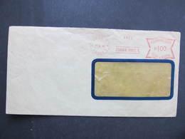 Brief Praha Poric 1940 B.u.M. Frankotype Postfreistempel // M9162 - Böhmen Und Mähren