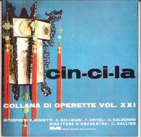 CIN - CI - LA OPERETTE VOL. XXI RIGHETTI, BALLINARI, ARTIOLI, CALDERONI - Opera