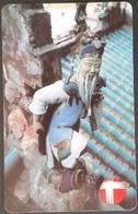 Telefonkarte Hongkong -  Tradition - Skulptur - Hong Kong