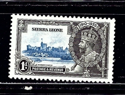 Sierra Leone 166 MNH 1935 KGV Silver Jubilee - Sierra Leone (...-1960)