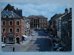 Saint-Hubert. Place Du Marché. Animée - Saint-Hubert