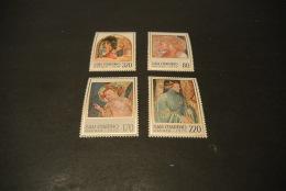 K16138 -  Set MNH  San Marino 1979 - SC. 971-974 - Christmas - Noël