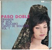 """PASO DOBLE GRANADA MI JACA EL RELICARIO CANTO DE SOLE  VOL. 1 GAIO PADANO 7"""" - Country & Folk"""