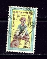 Bhutan 13 Used 1963 Issue - Bhután