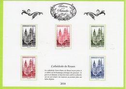 Trésors De La Philatélie 2018 : Cathédrale De Rouen - Sheetlets