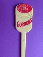 207 - Touilleur - Agitateur - Mélangeur à Boisson - Alcool Gordon's - Swizzle Sticks