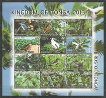 KINGDOM OF TONGA - MNH - Animals - Birds - 2013 - Parrots
