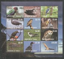 KINGDOM OF TONGA - MNH - Animals - Birds - Owls