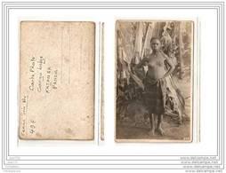 4121  AK/PC/ CARTE PHOTO/961/CONGO BELGE/FEMME SEIN NU/PANDA/KATANGA/PHOTO.GA BRIEL.L - Kinshasa - Leopoldville