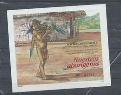 Venezuela Stamps. 1995 Aborigines Minisheet MNH (B525) - Venezuela