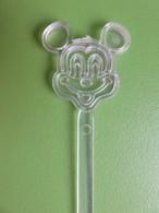 217 - Touilleur - Agitateur - Mélangeur à Boisson - Mickey Mouse - Disney - Swizzle Sticks
